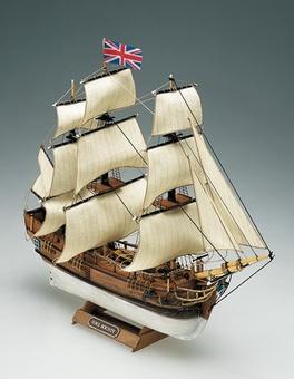 Модель корабля Баунти мини (Bounty mini), английский шлюп XVIII в. - фото 2