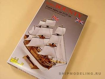 Модель корабля Баунти мини (Bounty mini), английский шлюп XVIII в. - фото 3