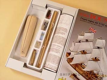 Модель корабля Баунти мини (Bounty mini), английский шлюп XVIII в. - фото 4