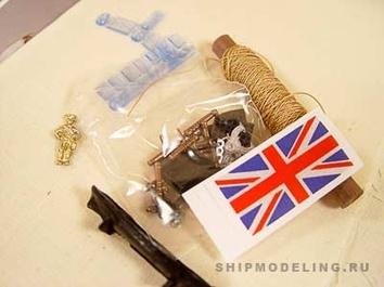 Модель корабля Баунти мини (Bounty mini), английский шлюп XVIII в. - фото 7