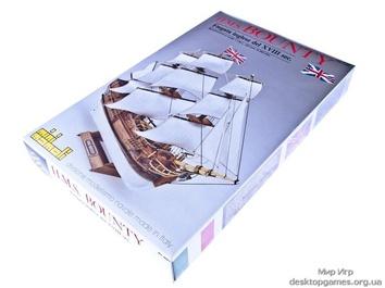 Модель корабля Баунти мини (Bounty mini), английский шлюп XVIII в. - фото 9