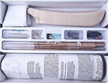 Модель корабля Баунти мини (Bounty mini), английский шлюп XVIII в. - фото 10