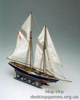 Сборный деревянный корабль-парусник Блуноус (Bluenouse)