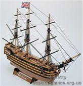 Сборный деревянный корабль Виктори мини (HMS Victory mini)