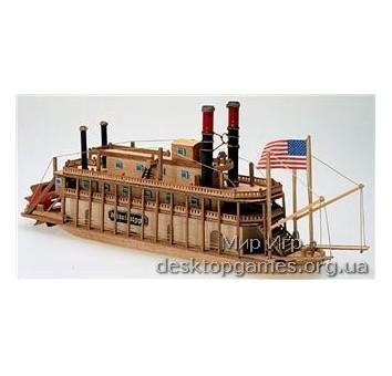 MAMM13 Missisipi mini (Миссиссипи мини) речной пароход, 1:206
