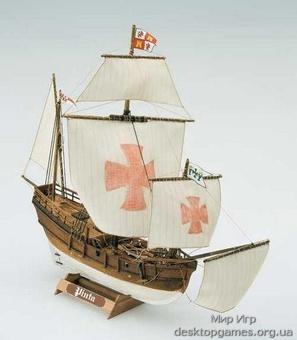 Модель деревянного корабля Пинта мини (Pinta mini)