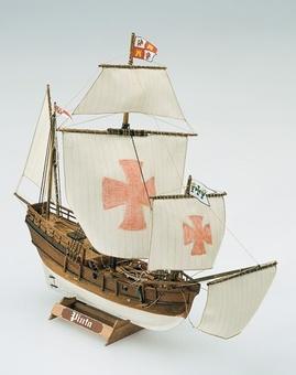 Модель деревянного корабля Пинта мини (Pinta mini) - фото 2