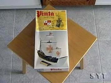 Модель деревянного корабля Пинта мини (Pinta mini) - фото 3