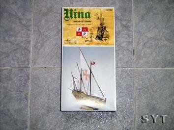 Масштабная модель корабля Нинья мини (Nina mini) - фото 3