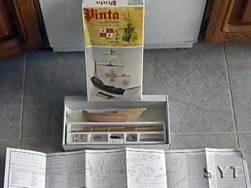 Модель деревянного корабля Пинта мини (Pinta mini) - фото 4