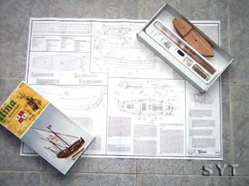 Масштабная модель корабля Нинья мини (Nina mini) - фото 4