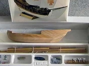 Модель деревянного корабля Пинта мини (Pinta mini) - фото 5