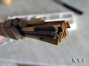 Модель деревянного корабля Пинта мини (Pinta mini) - фото 10