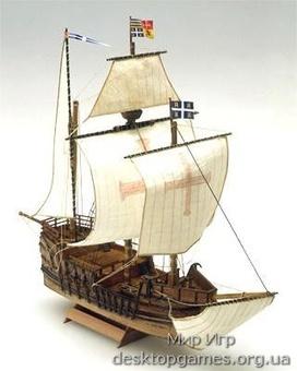 Деревянный корабль Сан Рафаэль мини (San Rafael mini)