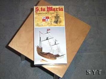 Сборная деревянная модель корабля Санта-Мария (Santa Maria mini) - фото 3