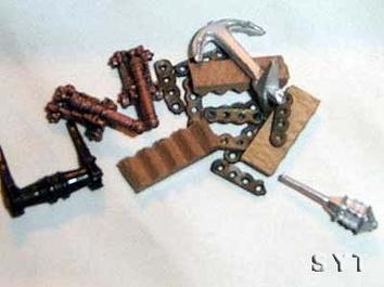 Сборная деревянная модель корабля Санта-Мария (Santa Maria mini) - фото 7