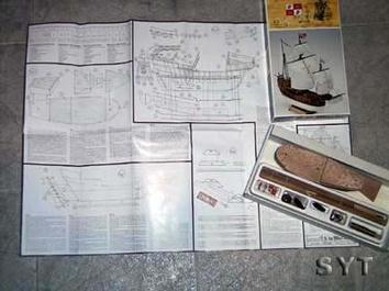 Сборная деревянная модель корабля Санта-Мария (Santa Maria mini) - фото 8