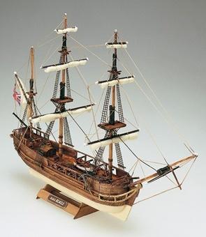 Деревянная модель корабля Бигль мини (HMS Beagle mini) - фото 2