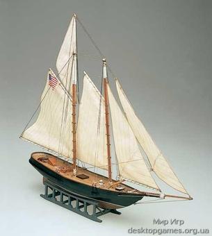 Сборная деревянная яхта Америка (America)