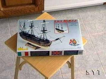 Деревянная модель корабля Бигль мини (HMS Beagle mini) - фото 3