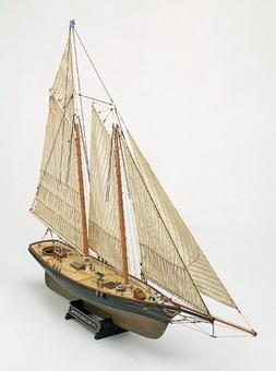 Сборная деревянная яхта Америка (America) - фото 2