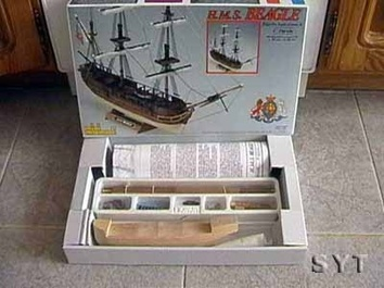 Деревянная модель корабля Бигль мини (HMS Beagle mini) - фото 4