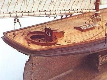 Сборная деревянная яхта Америка (America) - фото 10