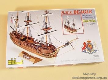 Деревянная модель корабля Бигль мини (HMS Beagle mini) - фото 12