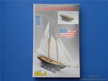 Сборная деревянная яхта Америка (America) - фото 11