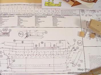 Деревянная модель корабля Бигль мини (HMS Beagle mini) - фото 17