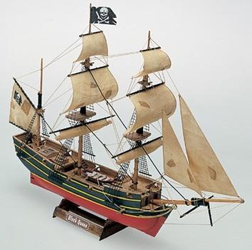 Деревянный корабль Black Queen (Черная королева) - фото 2