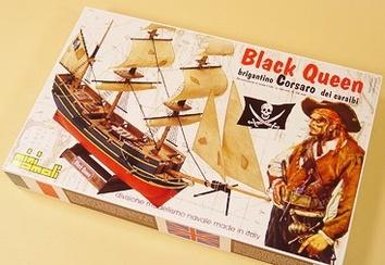 Деревянный корабль Black Queen (Черная королева) - фото 3