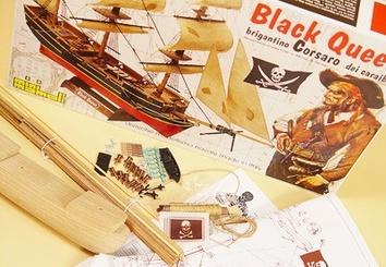 Деревянный корабль Black Queen (Черная королева) - фото 4