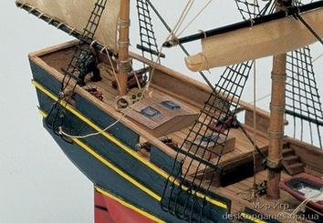 Деревянный корабль Black Queen (Черная королева) - фото 8