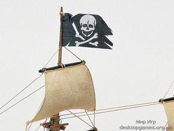 Деревянный корабль Black Queen (Черная королева) - фото 10