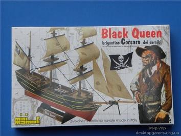 Деревянный корабль Black Queen (Черная королева) - фото 11