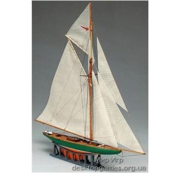 MAMM63 Shamrock mini (Шамрок мини) яхта, 1:170