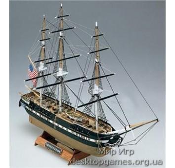 Деревянная модель корабля Конститьюшн (Constitution mini)