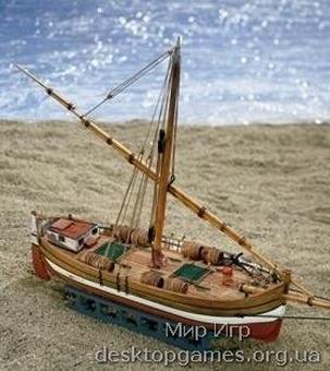 Сборная деревянная модель парусника Il Leudo (Леудо)