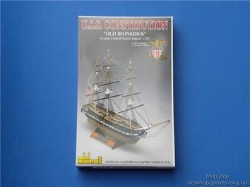 Деревянная модель корабля Конститьюшн (Constitution mini) - фото 6