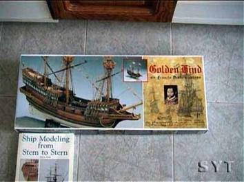 Модель деревянного корабля Голден Хинд мини (Golden Hind mini) - фото 3