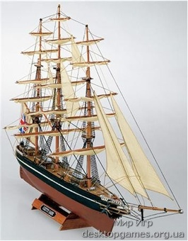 Деревянный корабль Катти Сарк (Cutty Sark mini)