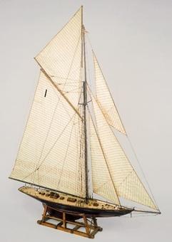 Сборная модель яхты из дерева Британия (Britania mini) - фото 2