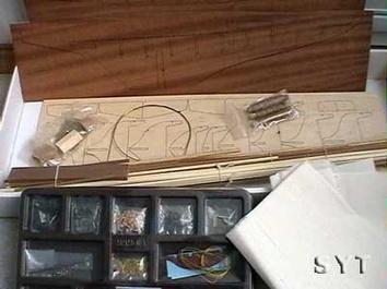 Сборная модель яхты из дерева Британия (Britania mini) - фото 4