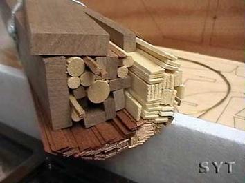 Сборная модель яхты из дерева Британия (Britania mini) - фото 5
