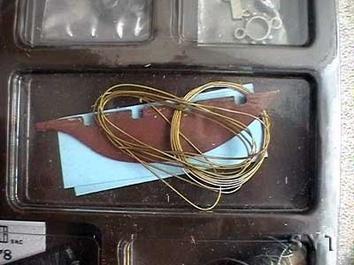 Сборная модель яхты из дерева Британия (Britania mini) - фото 6