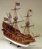 Сборная деревянная модель корабля Roter Lowe