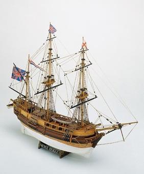 Модель корабля из дерева HMS Beagle (Бигль) - фото 2