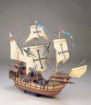 Сборная деревянная модель корабля-каракки Сао Мигуэль Atlantica - фото 2