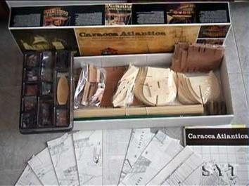Сборная деревянная модель корабля-каракки Сао Мигуэль Atlantica - фото 3